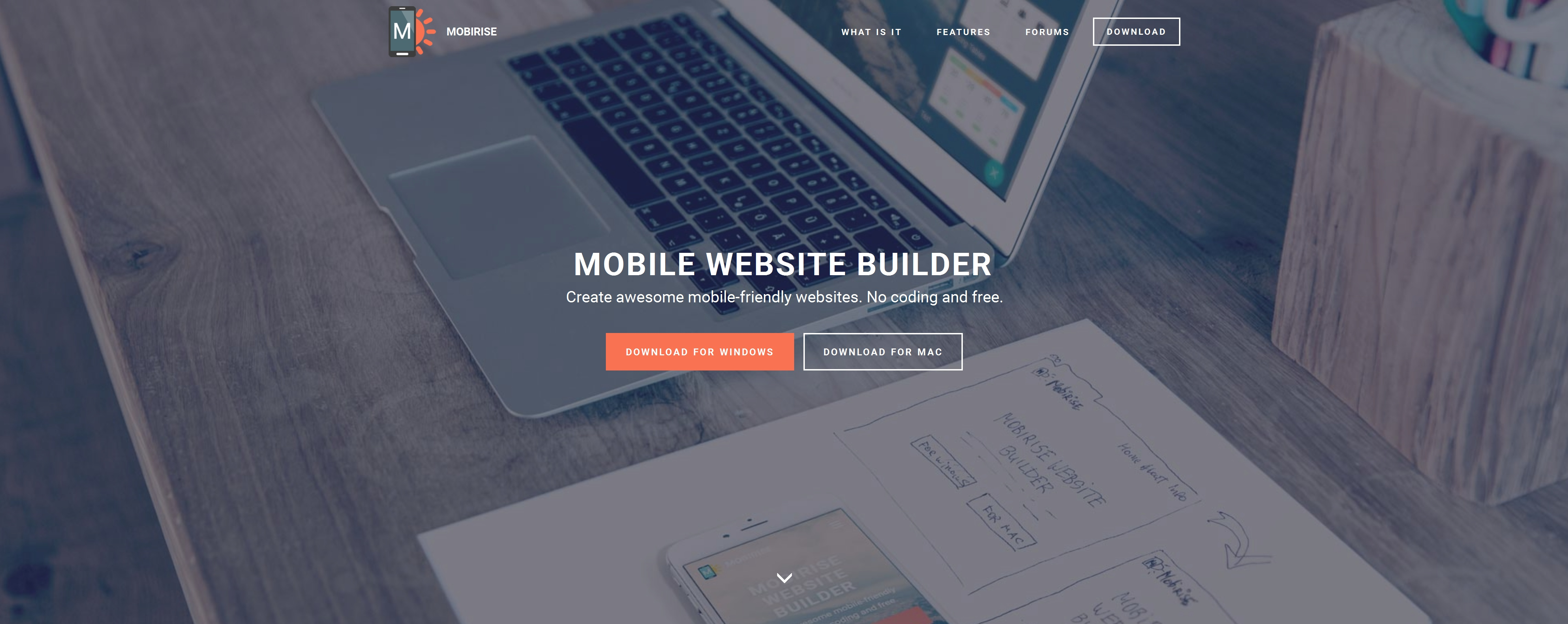 Bootstrap Mobile Website Builder